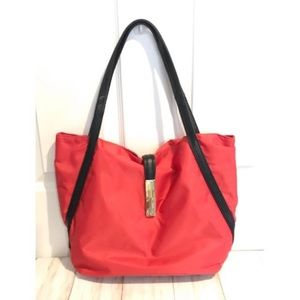 Kenneth Cole Red Tote looks NWOT